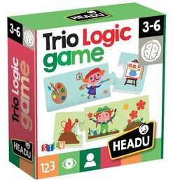 Joc logic trio - Headu