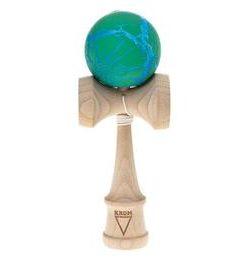 Kendama Krom Crack (verde+albastru)