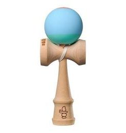 Kendama USA Pro Model. Colin Sander. Bleu+vernil