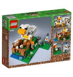 LEGO Minecraft - Cotetul de gaini 21140 pentru 7-14 ani