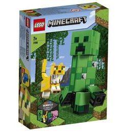 LEGO Minecraft - Creeper BigFig si Ocelot