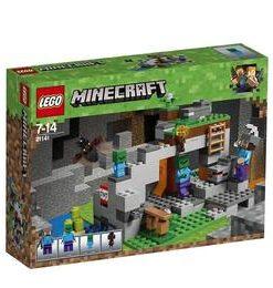 LEGO Minecraft - Pestera cu zombi 21141 pentru 7-14 ani