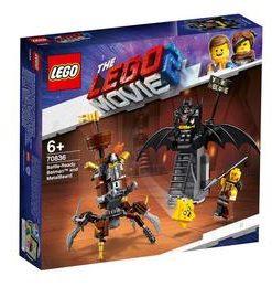 LEGO Movie - Batman & Barba metalica 70836 pentru 6+ ani