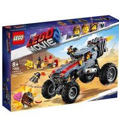 LEGO Movie - Buggy-ul lui Emmet si al lui Lucy 70829 pentru 8+ ani