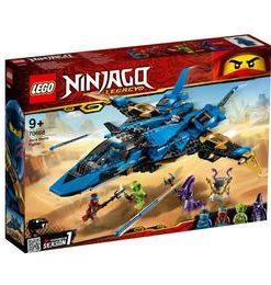 LEGO Ninjago - Avionul de lupta al lui Jay 70668 pentru 9+
