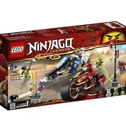 LEGO Ninjago - Vehiculele lui Kai si Zane 70667 pentru 8+ ani