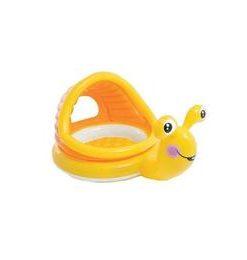 Piscina gonflabila cu protectie solara pentru copii - Melc Nebunici