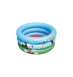 Piscina gonflabila pentru bebelusi - Mickey Mouse 70x30 cm - Nebunici