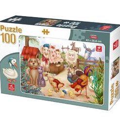 Puzzle 100: animale domestice