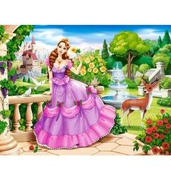 Puzzle 100. Princess in the Royal Garden