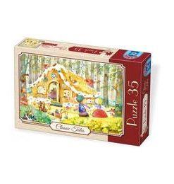 Puzzle 35. Classic tales, Hansel si Gretel