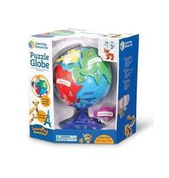Puzzle interactiv - Globul pamantesc - Learning Resources