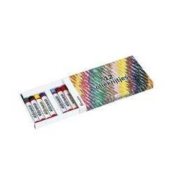Set 12 creioane colorate pe baza de ulei - Heutink