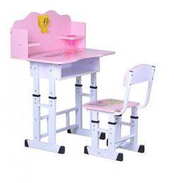 Set birou copii roz - Unic Spot Ro