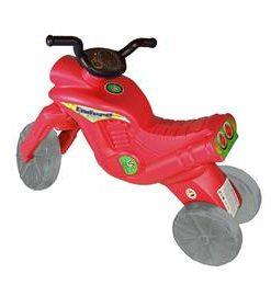 Tricicleta fara pedale rosie