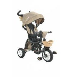 Tricicleta pliabila cu sezut reversibil Bebe Royal Milano Crem
