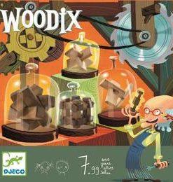 Woodix 6 jocuri logice din lemn