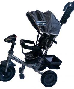Tricicleta multifunctionala cu sunete si lumini Lux Trike Dark Blue
