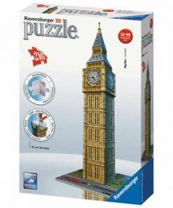 Puzzle 3D - Big Ben, 216 piese