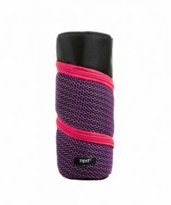 Penar cu fermoar, Zipit Looper - negru cu roz