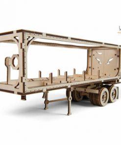 Puzzle Mecanic 3D - Remorca pentru Camion VM-03