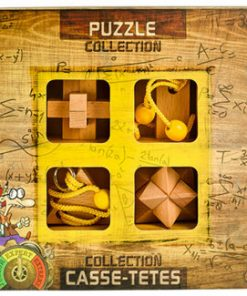 3D Expert Wooden Puzzles Collection