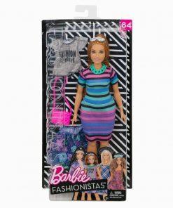 Papusa Barbie, fashionista roscata cu haine de schimb