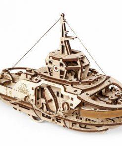 Puzzle Mecanic 3D - Model Remorcher