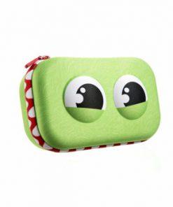 Penar cu fermoar, Zipit Wildlings Storage box - verde
