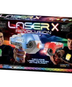Set Blaster Revolution Double Laser X