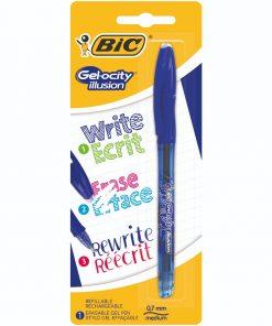 Pix cu gel termosensibil Bic, Albastru