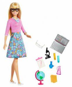 Set Papusa Barbie Profesoara