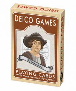 Joc romanesc de carti Navigatori celebri, carton