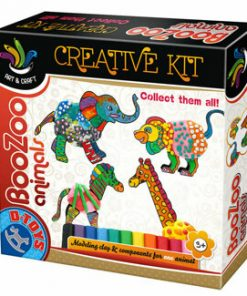 Set creatie plastilina, Boo-Zoo Animals