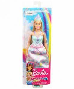 Papusa Barbie, Dreamtopia printese cu suvita verde