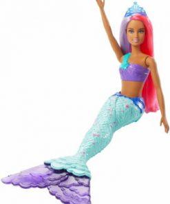 Papusa Barbie, Sirena cu parul in doua culori