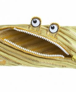 Penar cu fermoar, Zipit Monster Special Edition - auriu