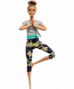 Papusa Barbie, mereu in miscare - Yoga style