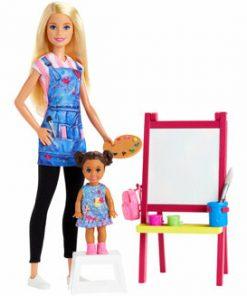 Papusa Barbie, profesor de desen
