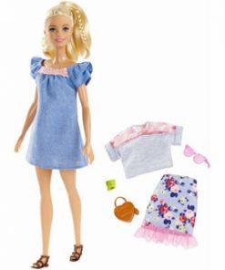 Papusa Barbie, Fashionista blonda cu hainute de schimb