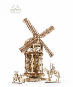 Puzzle Mecanic 3D - Moara de vant
