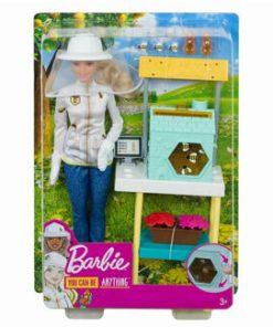 Barbie, cariere - set mobilier cu papusa apicultor
