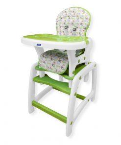 Scaun de masa copii JUJU Eat&Play JU3002-Green-Island (Verde)