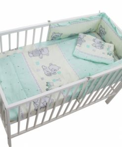 Lenjerie Teddy Toys Turquoise 4 Piese M1 120x60