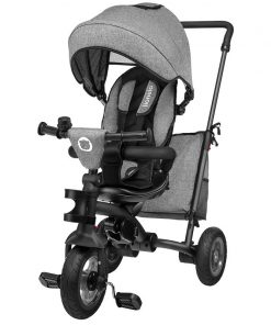 Lionelo - Tricicleta multifunctionala cu sezut reversibil, pliabila, Tris, Stone Grey