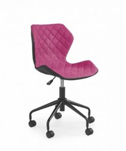 Scaune birou copii roz negru/roz Matrix
