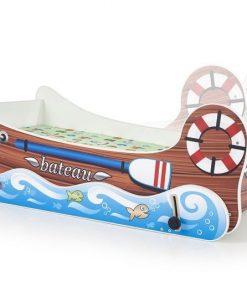 Pat pentru copii lemn Boat