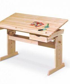 Birou de lemn copii Julia