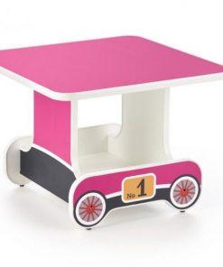 Birou pentru copii roz Lokomo