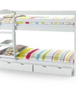 Sertare pentru pat Sam alb